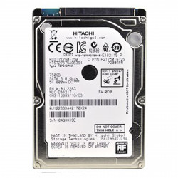 "HDD HD HARD DISK 2,5"" SATA - 750GB rpm7200 HITACHI"