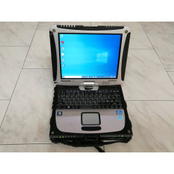 "NOTEBOOK A-- TOUCH 10.2"" PANASONIC TOUGHBOOK CF-19 MK-6 i5-3320M PC/TABLET MILITARE"