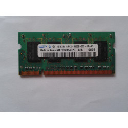 1x 2GB SODIMM DDR2 - 800 mhz - PC2-6400 SAMSUNG MEMORIE RAM