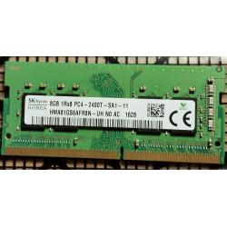 1x 8GB SODIMM DDR4 2400 mhz PC4-2400T 260 PIN 1,2v MEMORIE RAM