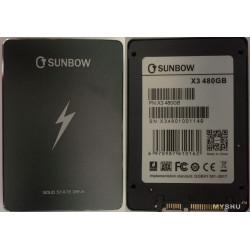 "SSD 480GB 2,5"" SATA III SUNBOW NUOVO IMBALLATO 7mm"