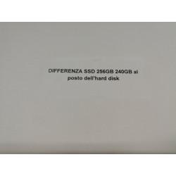 DIFFERENZA da PAGARE per ricevere il computer con SSD 240/256GB.