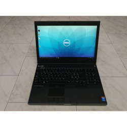 "WORKSTATION A-- 15.6"" DELL PRECISION M4800 8GB i7-4810MQ FHD SSD USB3 QUADRO NOTEBOOK"