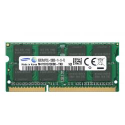 1x 8GB SODIMM DDR3L 1600 mhz PC3L-12800 204 PIN M471B1G73DB0 MEMORIE RAM SAMSUNG