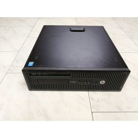DESKTOP A-- SFF HP ProDesk 600 G1 i5-4670 QUADRO USB3 professionale GARANZIA