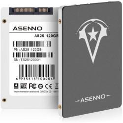 "SSD 120GB 2,5"" SATA III ASENNO NUOVO IMBALLATO"