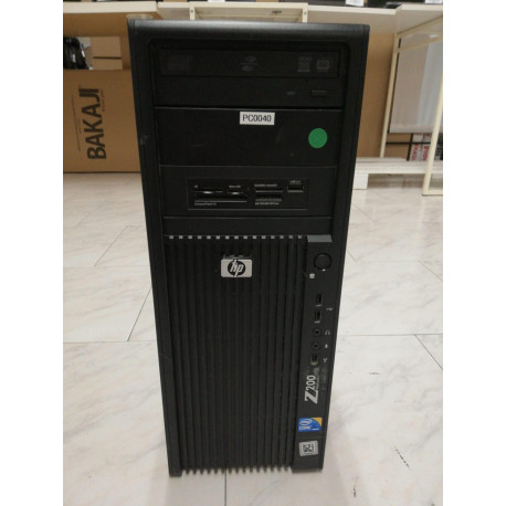 DESKTOP TOWER A-- WORKSTATION HP Z200 10GB i5-660 3.33ghz DVD/RW GARANZIA