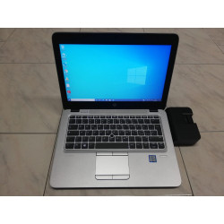 "ULTRABOOK A 12.5"" HP EliteBook 820 G3 8GB SSD 256GB DS i5-6300U WEB USB3 GARANZIA"