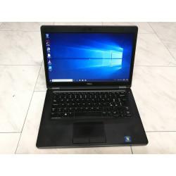"""NOTEBOOK A-- 14"""" DELL E5450 8GB SSD 256GB i5-5300U USB3 HDMi WEB GARANZIA professionale"""