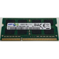 1x 4GB SODIMM DDR3 - 1600 mhz - PC3-12800 - 204 PIN - 1,5v - MEMORIE RAM SAMSUNG