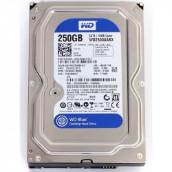 "HDD HD HARD DISK 3,5"" SATA 250GB WESTERN DIGITAL rpm7200 x desktop"