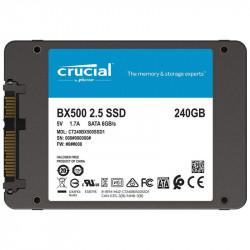 "SSD 240GB 2,5"" SATA III 6GB/s CRUCIAL BX500 7mm NUOVO IMBALLATO"