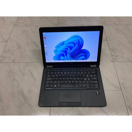 """ULTRABOOK A-- 12.5"""" DELL LATITUDE E7250 8GB SSD 256GB i5-5300U WEB WIN 11 GARANZIA"""